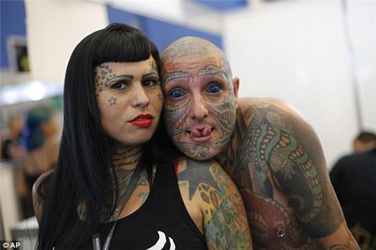 巴西纹身周参展艺术家:人们不再把我们当做七个头的怪物了