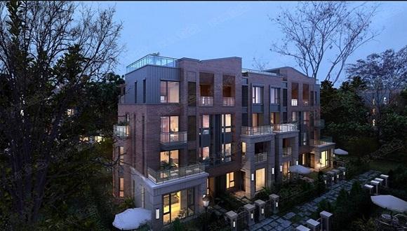 万科城墅则定位为经济型别墅,面积108-131平米,成交均价在2.