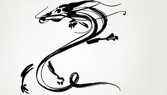 龙的简笔画 步骤 简单