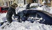 加拿大暴雪算什么,美国东部已经被埋起来了