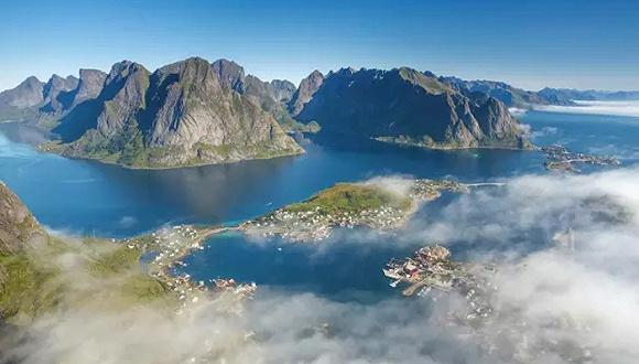 挪威北部峡湾罗弗敦群岛:空灵静远之境