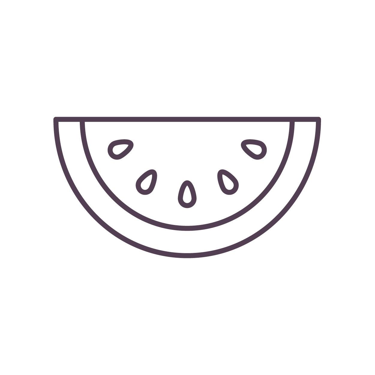 可爱食物汤简笔画