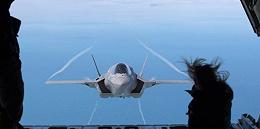 英国首架F-35B战机试飞的10个惊艳瞬间