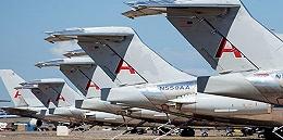 """罗斯威尔机场:废弃飞机的""""墓地"""""""