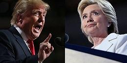 """美国大选迎来最肮脏一天 特朗普怒斥希拉里""""不要脸"""""""