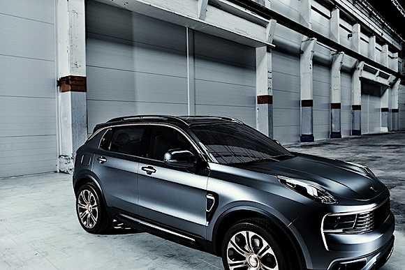 吉利一口气在欧洲发布了两款全新品牌概念车高清图片