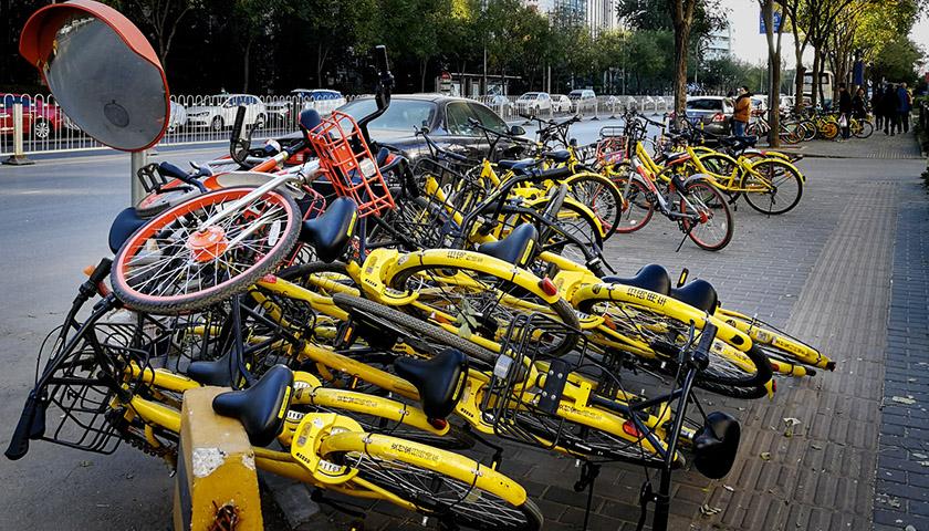 北京共享單車增至190萬輛 將重點推進非機動車管理立法