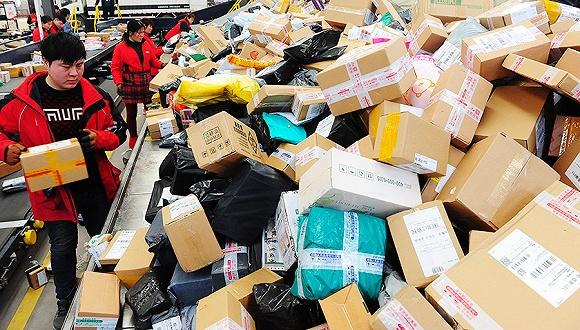 國家郵政局:1月份全國快遞39億件 超日本2016全年業務量