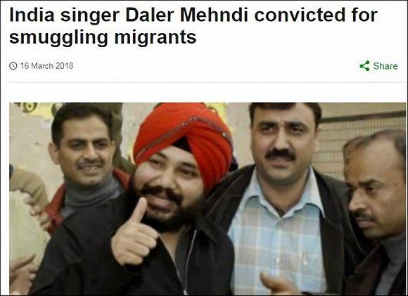 据bbc3月16日报道,演唱《tunak tunak tun》的印度歌手达雷尔·