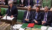 特蕾莎·梅:给议会三?#20301;?#20250;,包括表决无协议脱欧