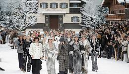 Karl Lagerfeld说再会的时辰,下了一场雪
