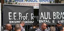 巴西圣保罗州一学校发生?#32929;?#26696;,至少10死17伤