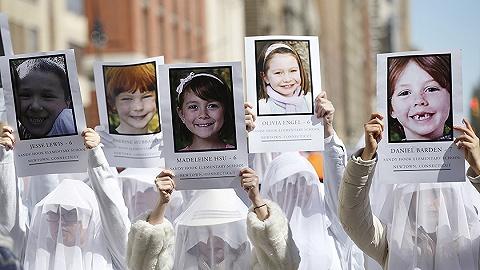美国桑迪·胡克校园枪击案六年后,受益孩子的家人终究可以告状枪企了