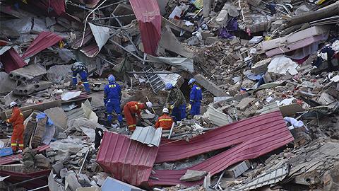 山西乡宁山体滑坡已有12人不幸遇难,救济指示部默哀