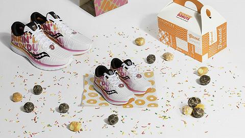 燃燒我的卡路里,賣甜甜圈的唐恩都樂居然出了款運動鞋
