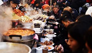 传说中吃货必去的首尔广藏市场到?#36164;?#20040;样?