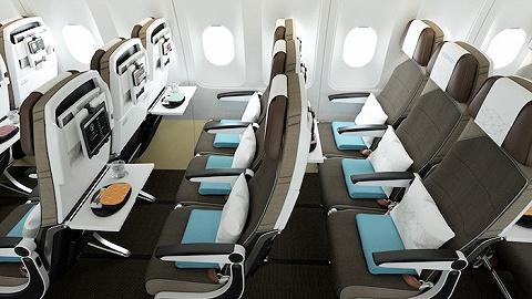 为了让经济舱更舒服点,阿提哈德航空认真做了些尝试