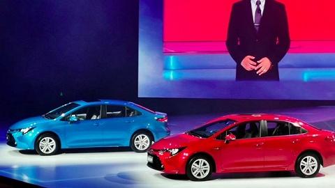 新车 广汽丰田首款搭载TNGA架构的紧凑型轿车上市了