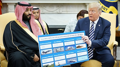 以伊朗威胁为由绕开国会卖70亿美元军火给沙特,美国政府还有另一个目的