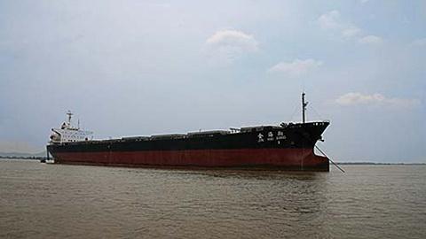 二氧化碳泄露货轮系西霞口修船公司修理,海员详解消防系统工作原理