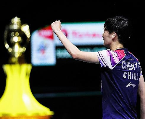 零封劲旅日本,中国羽毛球队时隔4年重夺苏?#19979;?#26479;