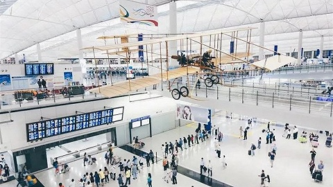 旅游目标地太众人,机场大约更好逛
