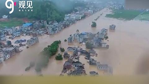 应急办理部:本轮暴雨洪涝致南方8省614万人受灾