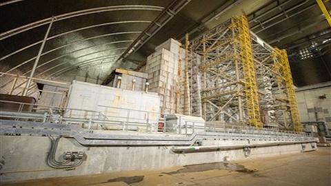 切尔诺贝利核电站新掩体正式投入使用