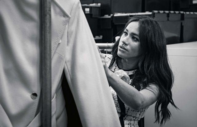梅根王妃推出服装系列,还做了《Vogue》杂志客座编辑|界面新闻·时尚