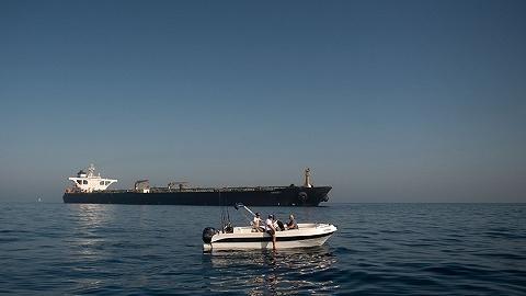 """顶住美国""""最后一分钟""""极限施压,直布罗陀释放被扣伊朗油轮"""