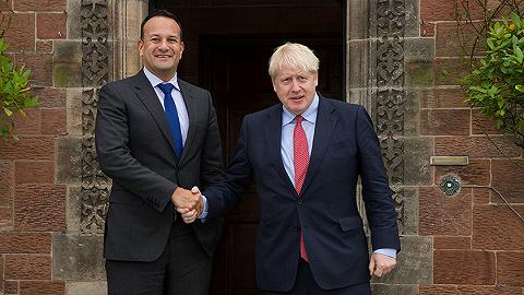 爱尔兰总理会晤约翰逊后表示看到出路,英国脱欧又迎来转机?