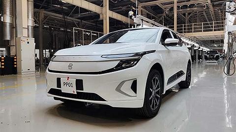 拜腾首款量产车试装车下线,正在全力铺设销售服务渠道