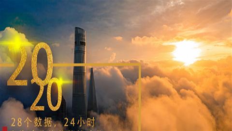 28個數據,24小時,上海這些絕美的鏡頭你看過嗎