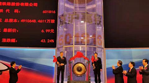 京沪高铁上市了,高铁第一股能涨多少?