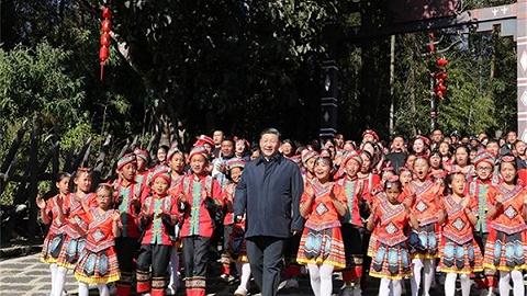 视频丨习近平向佤族乡亲致以新春祝福