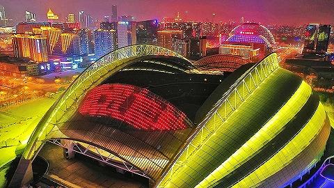 【圖集】全國多處地標建筑元宵亮燈,為武漢加油!為中國加油!