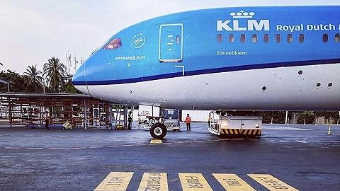 借由东航之力,荷兰皇家航空的一批防护医疗物资已在路上