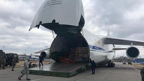 25.5吨!中国政府援俄抗疫物资抵达莫斯科