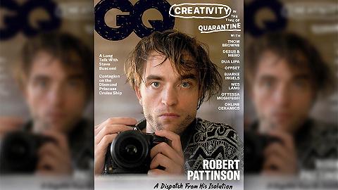 【一周影像資訊】男星帕丁森自拍《GQ》雜志封面,木村拓哉倆女兒復刻父母經典照片