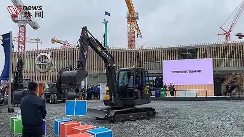 國內外巨頭齊聚浦東,上海工程機械寶馬展如期舉行