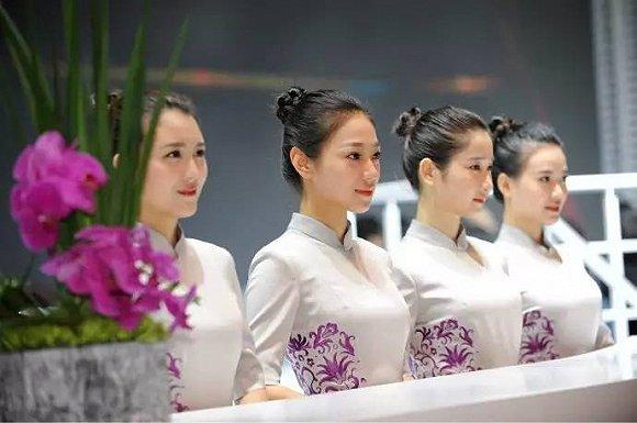 谁说上海模特无车展美女礼仪傻傻分不清(下)中国美女当今十大图片