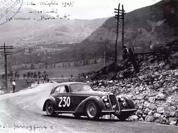 宝马328参加1000英里拉力赛,1940年宝马终于获得了1000英里拉力赛冠军