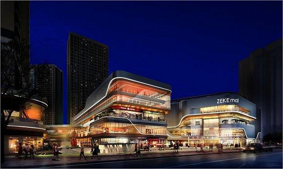 去年9月,长嘉汇购物公园开业,汇聚系列国际一线休闲旅游项目,国际
