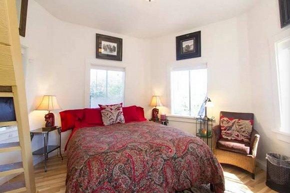 六边形卧室欧式