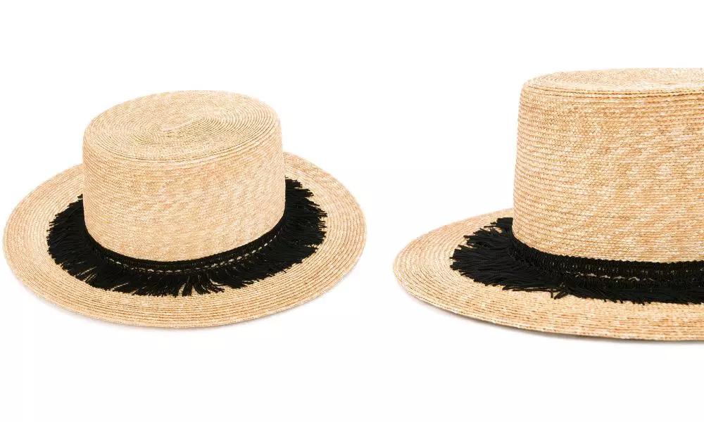 ▼ 如果你近期有去海边度假的打算,强烈推荐买一款浪漫的大檐帽.