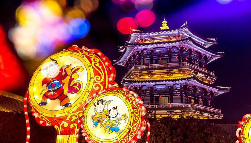 动物巡游 乐队助兴 西安秦岭野生动物园春节欢乐多