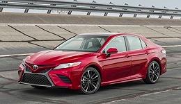 第八代凯美瑞首次在国内亮相 丰田全新造车理念真正落地