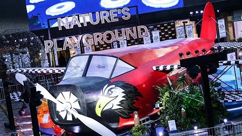 """科颜氏首家咖啡店开在了三里屯太古里,它还在飞机舱里建立个""""地球实验室"""""""