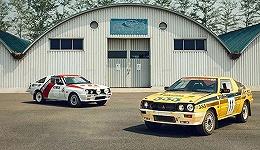 在中汽联的车库里 我们找到了四辆30年前的三菱拉力赛车