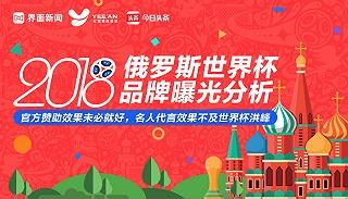2018俄罗斯世界杯:官方赞助效果未必就好,名人代言效果不及世界杯洪峰